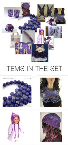 """""""Purple!"""" by bonniessewcrazy ❤ liked on Polyvore featuring art"""