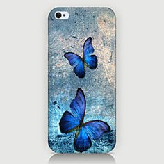 Etuier til iPhone Iphone Skins, Iphone 4, Iphone Cases, Galaxy S5 Case, Blue Butterfly, Vinyl Decals, Ipod, Butterflies, Super Easy