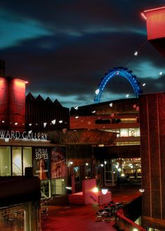 National Theatre (The South Bank at night after a show was always magical)