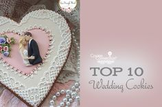 #COOKIE CONNECTION ALERT: Who needs royal lemon and elderflower wedding cake when there are decorated cookies?! Check out our top 10 wedding cookies in this week's Saturday Spotlight! COOKIES AND PHOTO BY TERI PRINGLE WOOD