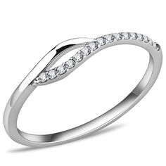 Hope Chest Jewelry - SKU113 - Stainless Steel Simple Cubic Zirconia Fashion Ring, $12.49 (http://www.hopechestjewelry.com/sku113-stainless-steel-simple-cubic-zirconia-fashion-ring/)