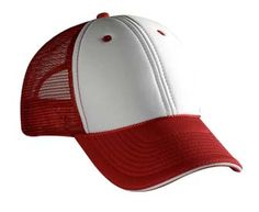 Polyester Foam Front Sandwich Visor Low Profile Pro Style Mesh Back Caps------------------------- $2.60/ea | Otto 84-472