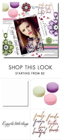 """""""Totwoo """"Wear a beautiful mind"""""""" by totwoo ❤ liked on Polyvore featuring Ladurée, Looking Glass, Lancôme, WearableTech, totwoo and smartjewelry"""