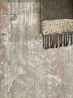 Repost from The Line Hotel in Los Angeles, a sneak of my weaving hanging in their lobby.thelinehotel:  poketo workshop with Janelle Pietrzak is sold out. all-roads work on display through 3/26.