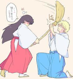 Sailor Mars and Jadeite (undercover)