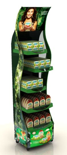 Retail Point of Purchase Design | POP Design | Health & Beauty POP Display | Colgate - Dy chão Palmolive | MyFolio