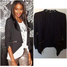 NWT open blazer Available in sizes, S,M,L. Lightweight blazer Jackets & Coats Blazers