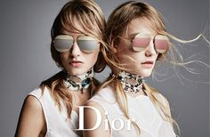 We adore these new frames from @Dior. The Dior Split frames take our sunglasses style from zero to (very stylish) hero. Shop now over on Solstice Sunglasses.