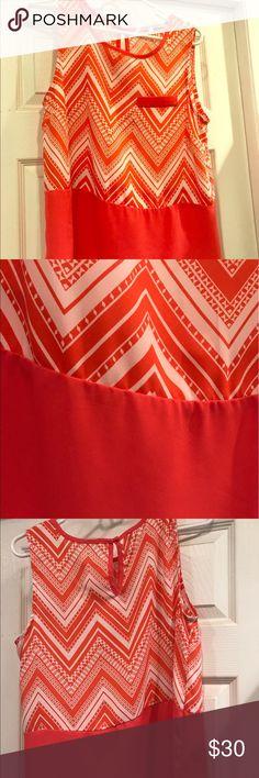 Collective Concepts Coral Shirt Stitch Fix Brand: Collective Concepts coral shirt Collective Concepts Tops Blouses