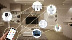 A connected home, sometimes referred to as a smart home, puts computer network technology to use for the added convenience and safety of families. Home automation enthusiasts have actually experime… Budget Maker, Smart Dimmer Switch, Smart Home Design, House Blinds, Home Technology, Fashion Technology, Home Gadgets, Tech Gadgets, Home Network