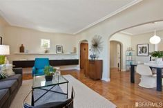 Lovely home in beautiful Bernal Heights. More photos at 49doors.com #sanfranciscorealestate