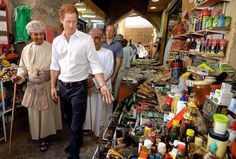 Prince Harry Visits Oman and United Arab Emirates