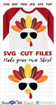 Turkey with glasses Svg, Turkey face svg for Cricut Silhouette Iron on, Thanksgiving SVG for boys Commercial Use cut files Turkey Clipart - Thanksgiving Design Thanksgiving Projects, Boy Thanksgiving Shirts, Thanksgiving Turkey, Thanksgiving Background, Vinyl Shirts, Silhouette Cameo Projects, Cricut Creations, Vinyl Projects, Vinyl Designs
