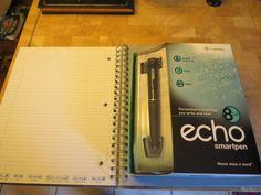 Echo Smartpen 8GB New in box with note book #Livescribe