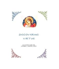 Discovering Virtue: A Printable Activity Book for Orthodox Christian Youth