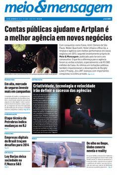 Confira a capa e os destaques do Meio & Mensagem desta semana.