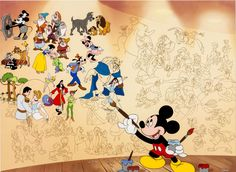 (Image) 34 Disney Picture Quotes To Inspire Your Inner Child, If you walk the steps of a stranger Disney Fanatic, Disney Nerd, Arte Disney, Disney Addict, Disney Mickey, Disney Stuff, Disney Magic, Disney Mural, Disney Theme