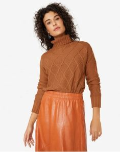 Moda Online, Ideias Fashion, Cold Shoulder Dress, High Neck Dress, Dresses With Sleeves, Long Sleeve, Sweaters, Products, Shoulder Dress