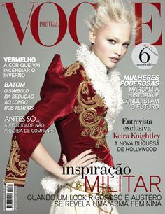 Sasha Pivovarova by David Sims Vogue Portugal November 2008