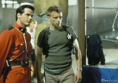 Paul Gross & Callum Keith Rennie, Due South Detective, Callum Keith Rennie, Due South, Tv Show Music, Great Tv Shows, Pictures Of People, My Buddy, Hot Actors, Thats The Way