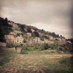 Gairo Vecchio, Ogliastra, Sardegna.