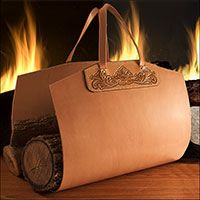 This is the tracing pattern that is used in the Premium Video that teaches how to make a leather fireplace log carrier. Log Carrier, Leather Working Patterns, Fireplace Logs, Leather Tooling, Tooled Leather, Dremel Projects, Tandy Leather, Horse Pattern, Hobby Horse