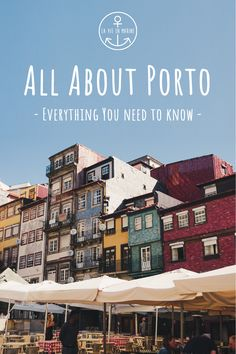 Porto is a breathtaking city with a lot of sights to see and things to explore. La Vie En Marines Guide to Porto will help you plan the perfect city trip! Voyage Europe, Europe Travel Guide, Backpacking Europe, Asia Travel, Travel Usa, Travel Guides, Visit Portugal, Portugal Travel, Places To Travel