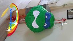 Turtle pinata made by Schminkkoppies