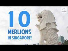 Singapore City, Lion Sculpture