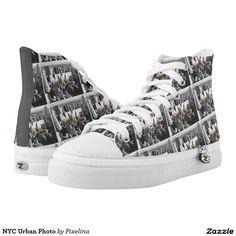 NYC Urban Photo Printed Shoes
