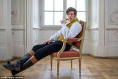 James Norton has became the talk of Twitter as women swooned over the smouldering good looks of his brooding Prince Andrei