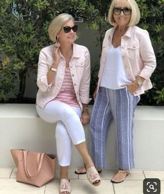 Best Fashion Tips For Women Over 60 - Fashion Trends Over 60 Fashion, Mature Fashion, Over 50 Womens Fashion, 50 Fashion, Fashion Tips For Women, Look Fashion, Plus Size Fashion, Fashion Outfits, Fashion Trends