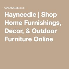 Hayneedle | Shop Home Furnishings, Decor, & Outdoor Furniture Online