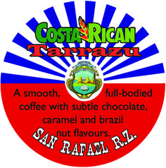 These Costa Rican Tarrazu arabica beans make for a smooth, full-bodied coffee with subtle chocolate, caramel and brazil nut flavours. Fresh Roasted Coffee, Costa, Caramel, Chocolate, Sticky Toffee, Candy, Schokolade, Chocolates