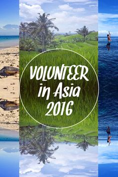 Volunteer in Asia 2016: Discover 12 popular volunteer programs in Asia with projects covering everything from Teaching English to Wild Elephant Conservation... You can volunteer in Bali, Cambodia, China, India - Delhi, India - Dharamsala, Laos, Nepal, Philippines, Sri Lanka, Thailand, Vietnam - Hanoi and Vietnam - Ho Chi Minh.