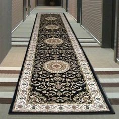 Royal Collection Oriental Rug by Network Rugs. Get it now or find more All Rugs at Temple & Webster. Oriental Rug, Temple, Ivory, Rugs, Classic, Collection, Black, Design, Projects