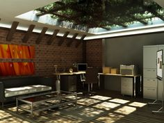 #render #vray #natural_lighting #office_by_lzooml