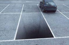 Artist unknown - Parking wrong eye