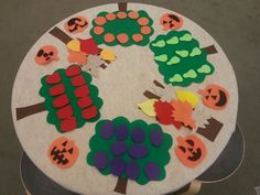 Fall Felt Board Table (from Thrive After Three)