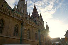 Matthias Church in Budapest. Image copyright Laurel Waldron 2015.