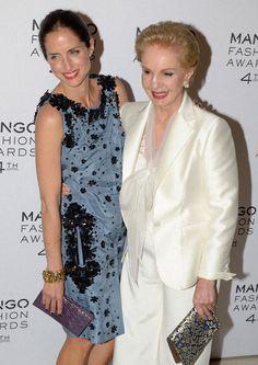 Mango Fashion, High Society, Carolina Herrera, Lbd, Style Icons, Awards, Daughter, Couture, Formal Dresses