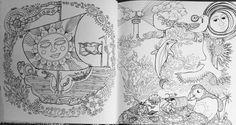 Tangle Bay: An Enchanting Colouring Book with Hidden Treasure: Jessica Palmer: 9781782214137: Amazon.com: Books