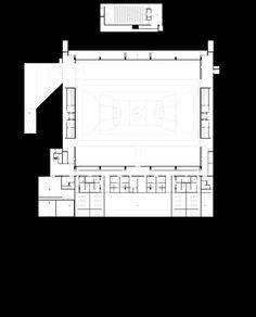 Lamego Pavillion_Plan Dezeen, Floor Plans, Diagram, How To Plan
