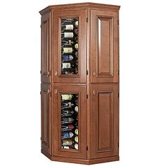 Vinotheque Connoisseur Corner with N'FINITY Cooling Unit at Wine Enthusiast - $7695.00