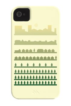 Beyond The Pines Phone Case for iPhone 4/4s,5/5s/5c, iPod Touch, Galaxy S4