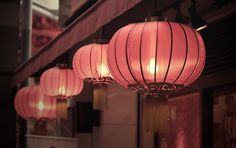 rose lanterns