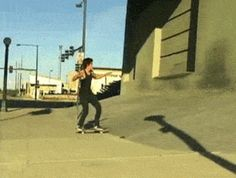 This skateboarder.
