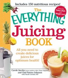 The best book ever for juicing.  It's covers everything!!
