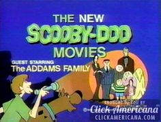 The New Scooby Doo Movies - the Gang meets the Addams Family in this cartoon crossover. Turner Classic Movies, Classic Tv, New Scooby Doo Movies, Scooby Doo Mystery Incorporated, Don Knotts, Cartoon Books, Pinturas Disney, Romantic Picnics, Saturday Morning Cartoons