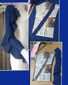 Sewing Techniques It is a fact that knowing how to sew saves lives in many cases. Dress Sewing Patterns, Blouse Patterns, Clothing Patterns, Blouse Designs, Skirt Patterns, Kurti Sleeves Design, Sleeves Designs For Dresses, Sleeve Designs, Fashion Sewing